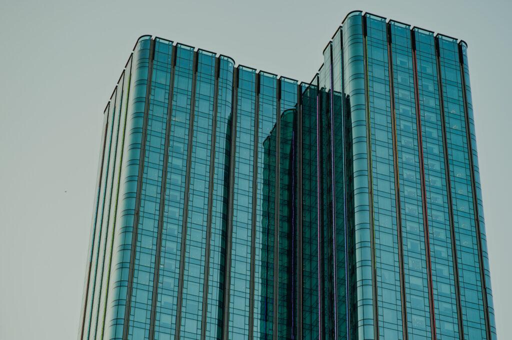 lucht in kantoorgebouwen