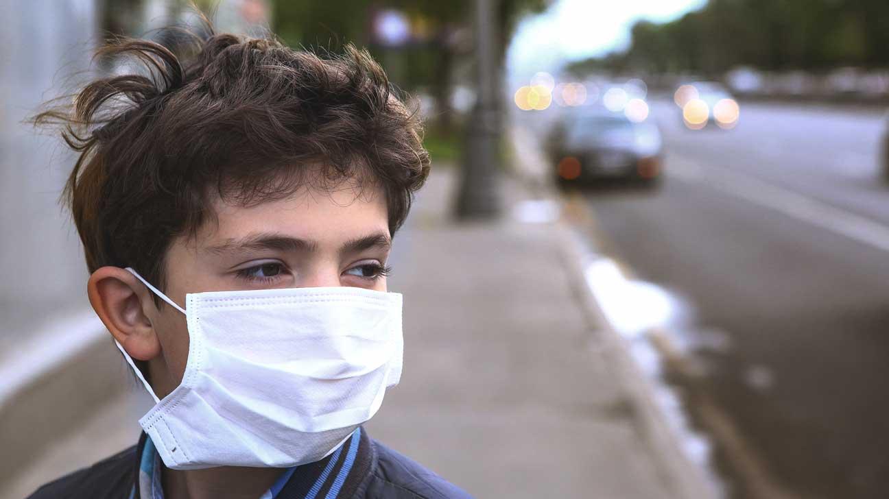 luchtvervuiling voor kinderen
