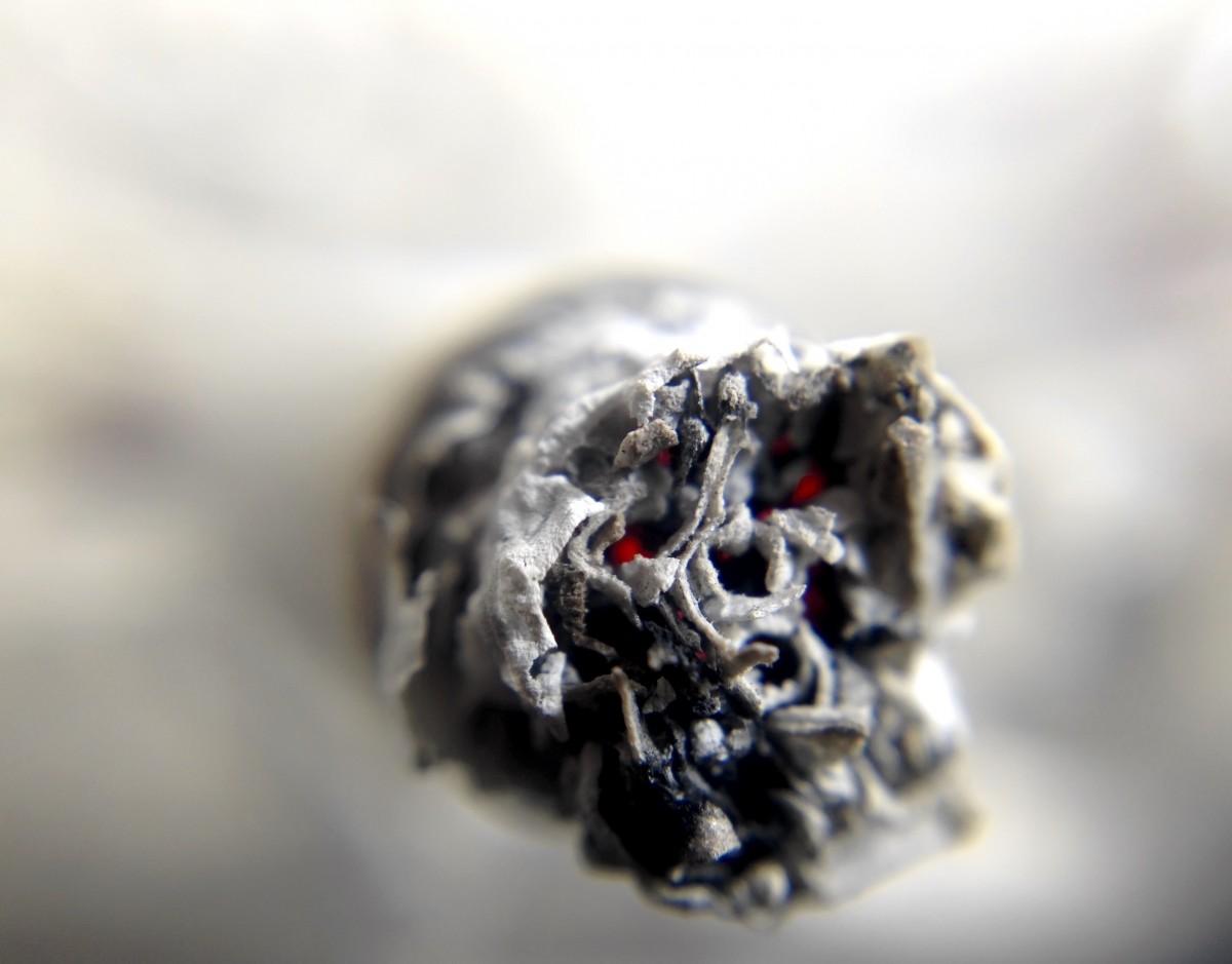 zwarte koolstof en longen