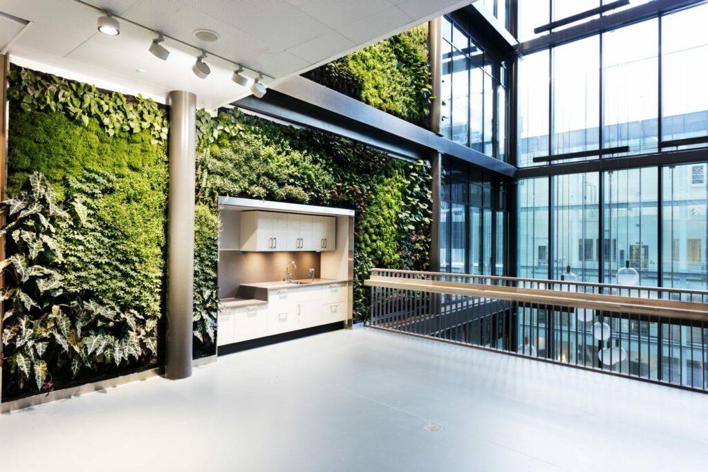 livingwall luchtkwaliteit