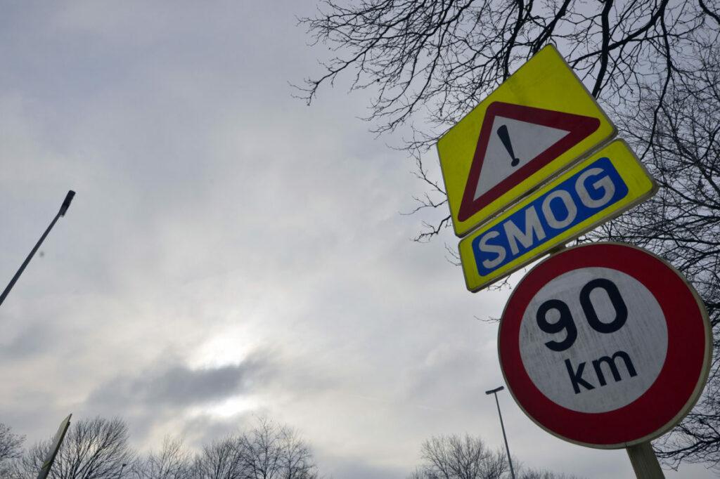 slecht luchtkwaliteit in belgie
